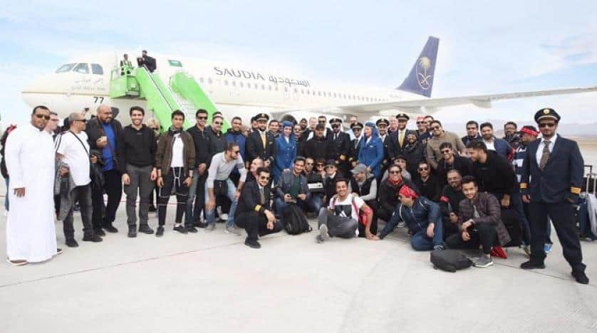 NEOM Airport Received First Flight Carried 130 NEOM Staff
